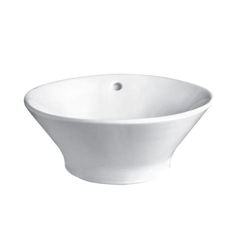 Decolav Classically Redefined Vessel In White 1435