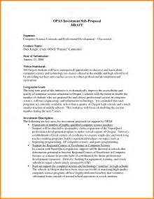 10 investment proposal examples ledger paper