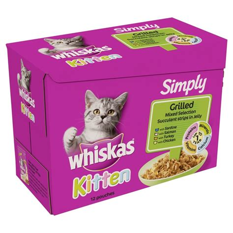 Royal Canin In Jelly Pouch Food For Cat 85 Gram buy whiskas pouch simply kitten grilled selection in jelly