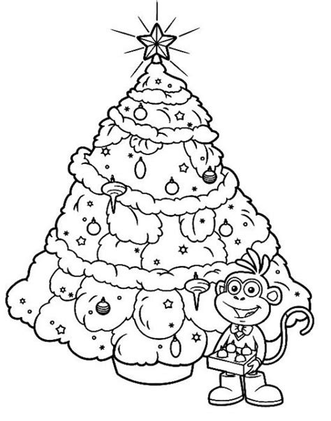 big christmas trees coloring pages christmas tree coloring page worksheets big christmas