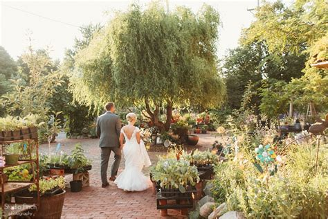 a blumen gardens wedding with and justin in