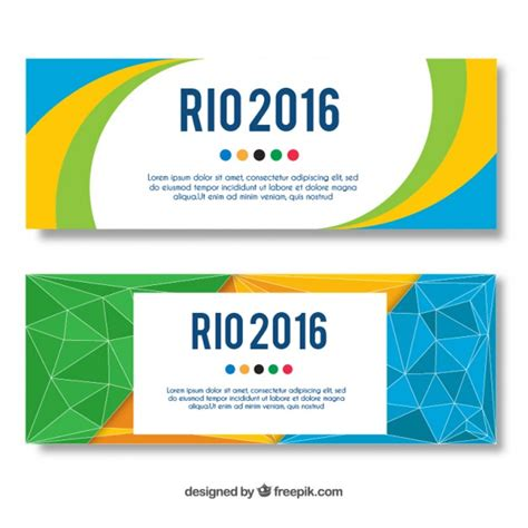 banner design online uk coloured banners design vector free download
