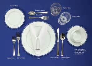 Tablesetting Table Setting 101 Mrfood Com