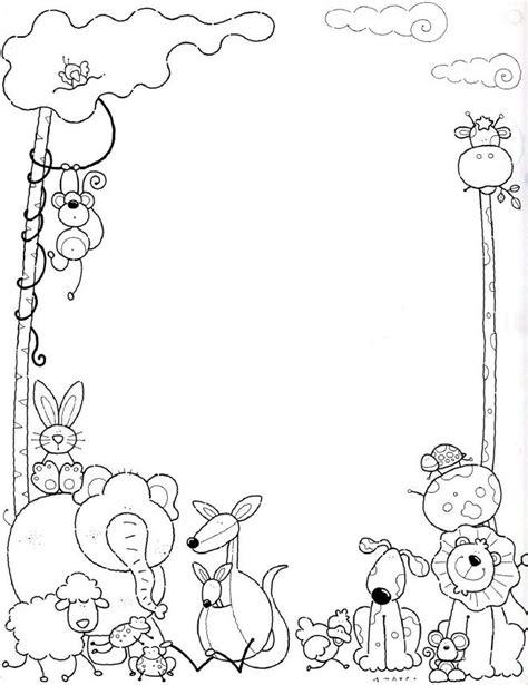 60 im 225 genes de flores para colorear dibujos colorear margenes bonitos parte 4 60 im 225 genes de animales para