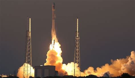 elon musk falcon 9 elon musk s spacex launches world s first electric satellites