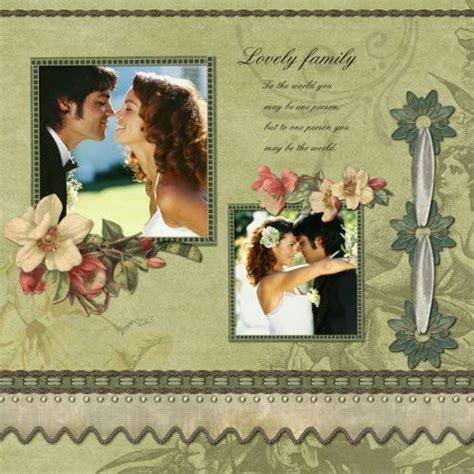 scrapbook templates wedding wedding scrapbook sle wedding scrapbook pinterest