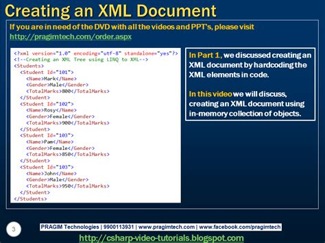 video tutorial xml sql server net and c video tutorial part 2 creating