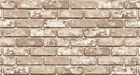 Qw Wallpaper Sticker Light Brown Brick brown brick effect wallpaper self adhesive vinyl sheets wallstickery