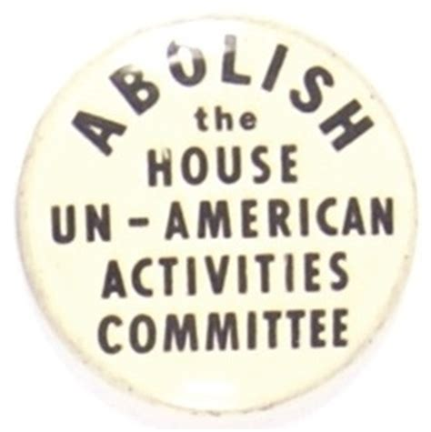 the house un american activities committee lot detail abolish house un american activities committee
