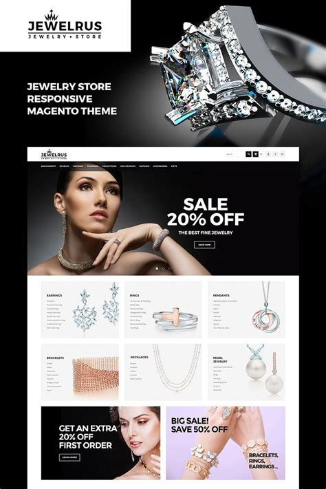 magento themes jewelry store 191 best magento themes images on pinterest role models