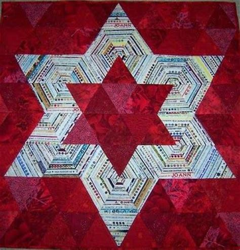 Of David Quilt by Of David Quilt Block Yoyo Quilts