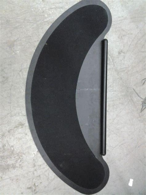 corner desk extender black corner surface desk extender bean unit felt