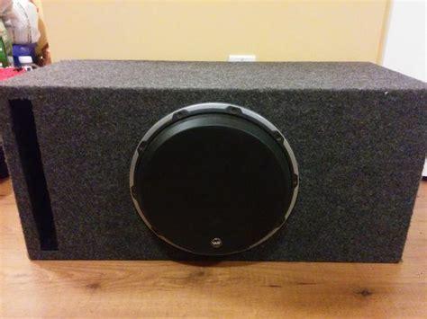 Mba Audio Custom Peterborough On by Jl Audio W6 12 Quot Sub Custom Box West Shore Langford