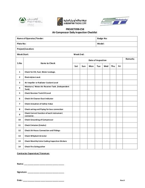 air checklist template air checklist template 28 images air conditioning