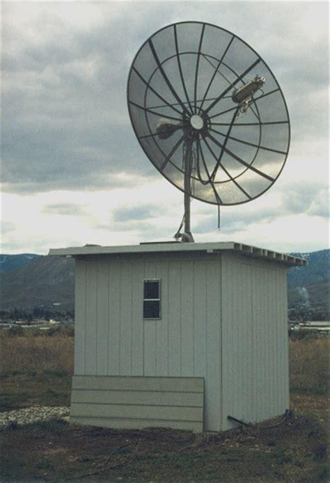 design  building   large dish antenna rotor