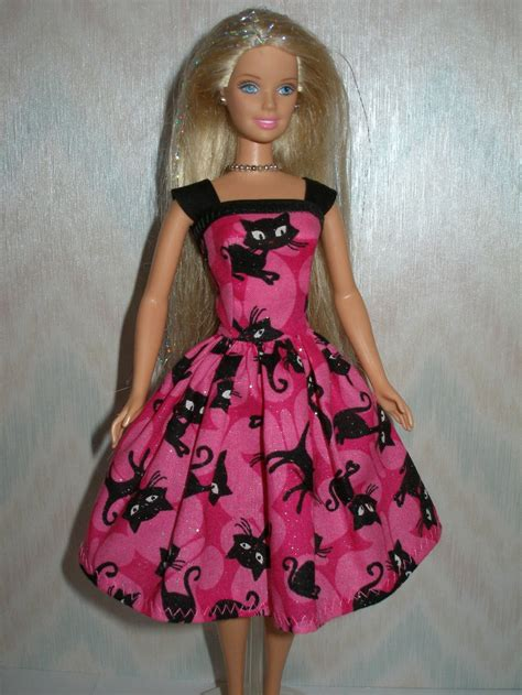 Handmade Clothes For - handmade clothes pink and black cat by thedesigningrose