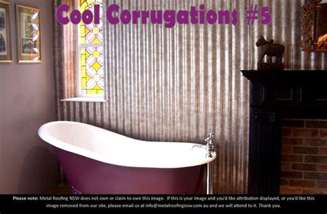 corrugated metal bathroom cool corrugations metal roof sheeting decorator ideas