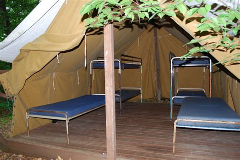 platform tents lodging frost valley ymca