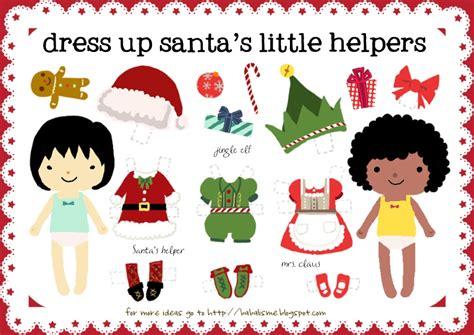 free printable santa paper dolls holiday help on pinterest cool mom picks