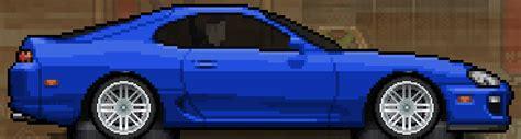 toyota supra jza pixel car racer wikia fandom