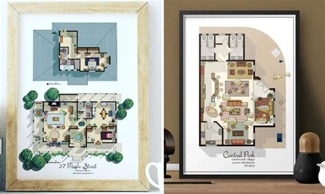 what would these picture perfect tv homes actually cost here s what the floorplan from your favourite tv show