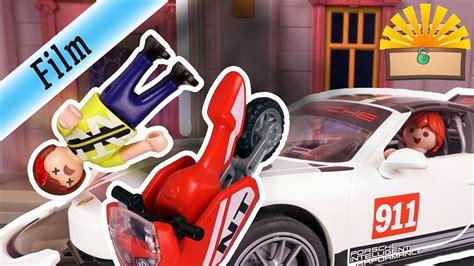 Unfall Motorrad Familie by Schlimmer Motorrad Unfall Mit Kind Playmobil Film