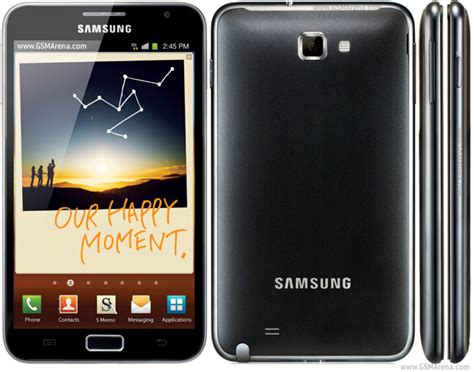 Dus Samsung Galaxy Note 1 N7000 samsung galaxy note n7000 pictures official photos
