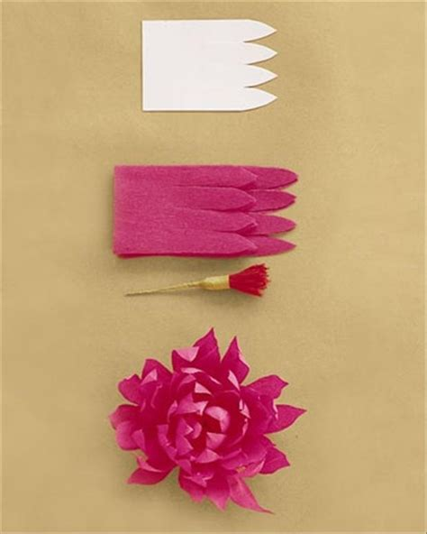 How To Make Realistic Paper Flowers - how to make flowers dump a day