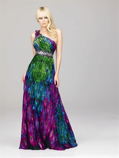 color of the dress the colorful peacock dresses liviroom decors