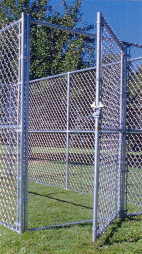 chain link kennel boundary fence best industrial fences in denver residential industrial fencing