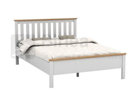 Wooden Bed Frames Uk Birlea Richmond 4ft6 White Wooden Bed Frame By Birlea