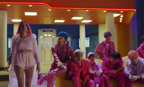 bts dropped   boy  luv teaser featuring halsey