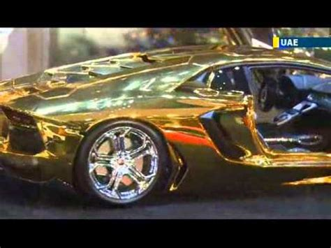lamborghini gold and diamonds uae unveils world s most expensive car gold and