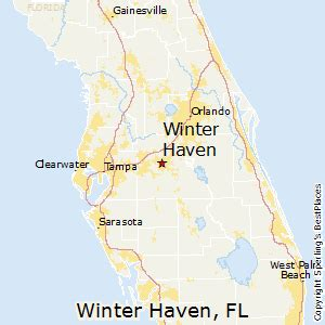 winterhaven florida map best places to live in winter florida