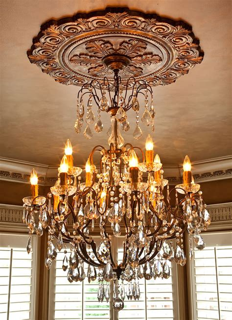 Ceiling Chandelier Medallion by Ceiling Medallions And Large Medallions For Ceiling