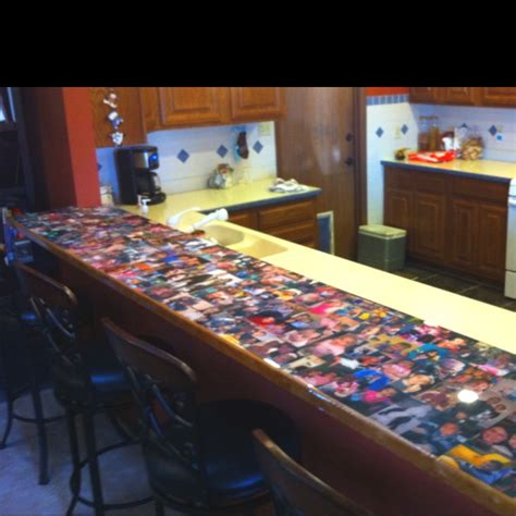 bar top pictures topped with epoxy resin great idea