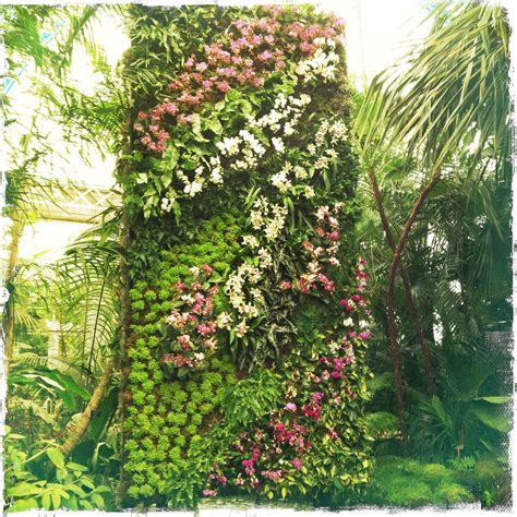 Blanc Vertical Gardens The Orchid Show Blanc S Vertical Gardens Is Now