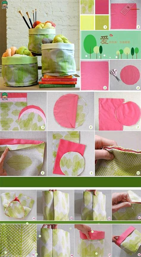 diy creative wrapped fabric pouch diy projects usefuldiy