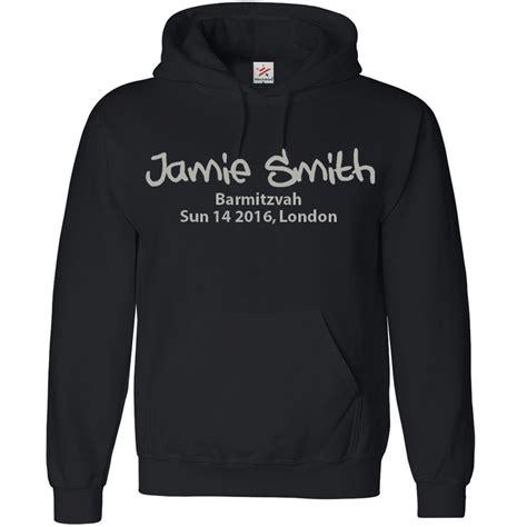 design hoodie online uk personalised bar mitzvah hoodie with your custom text printed