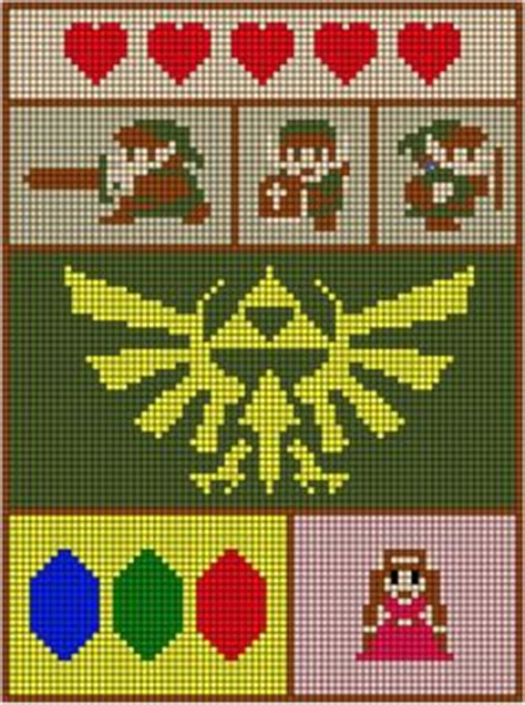 zelda tapestry pattern my idle little hands my clean excel grid for my
