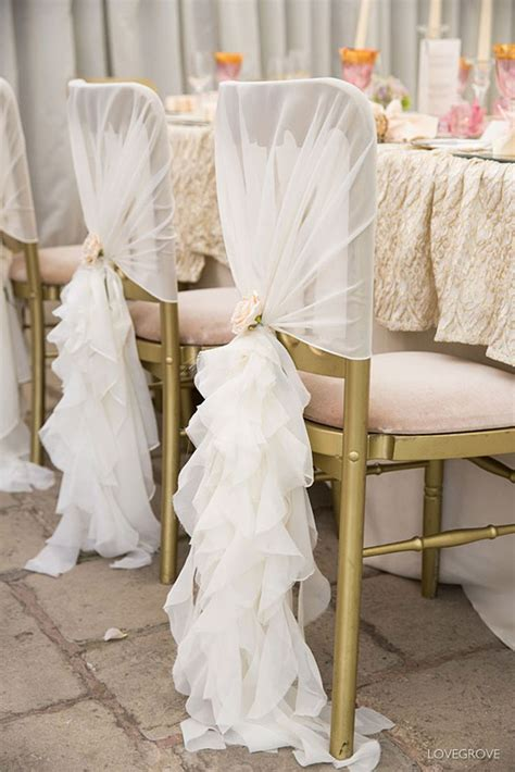 wedding bench decorations 25 best ideas about wedding chair covers on pinterest