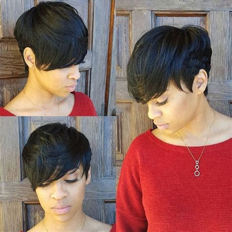 cheap hair extensions for pixie cuts 80 upscale short haircuts for black women be cute
