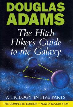 douglas the hitchhiker trilogy hitchhiker s guide to the galaxy marvin quotes