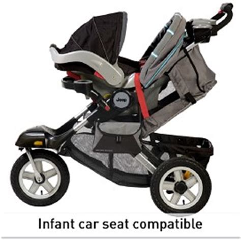 jeep stroller with infant car seat jeep 174 liberty limited terrain stroller