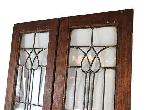 stained glass cabinet doors beveled glass cabinet doors architectural antiques