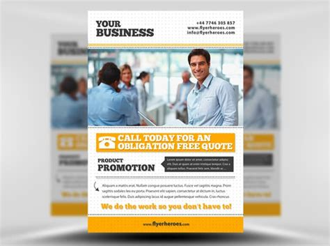 21 Best Free Psd Flyer Templates 85ideas Com Business Flyer Template