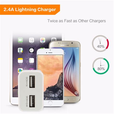 Charger Fast Zola 3 Output Ori High Quality dual usb 2 4a fast charger wall charger adapter travel