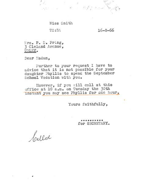 Permission Denied Letter Permission Denied