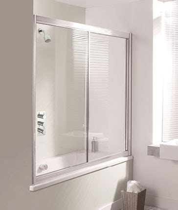 two panel sliding shower bath screen bath screens luxury bathrooms uk crosswater holdings
