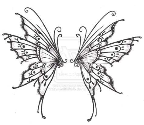 fairy wings tattoo designs tattoos on butterfly tattoos wings and